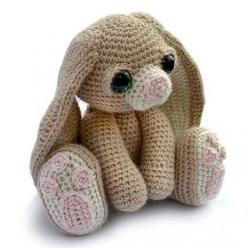 Buy Benedict the bunny amigurumi pattern - AmigurumiPatterns.net