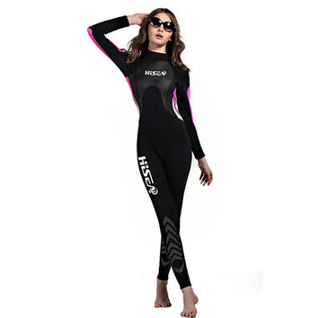 M059 M060 One-piece Surfing Diving Suit Wetsuit Topwear   woman   S