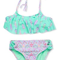 Girl's Gossip Girl 'Bohemian' Two-Piece Swimsuit,