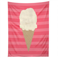 Allyson Johnson Vanilla Ice Cream Tapestry