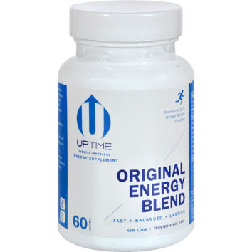 Up Time Energy Supplement - 60 Caplets
