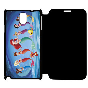 The Little Mermaid Samsung Galaxy Note 4 Flip Case Cover