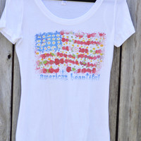 American Beautiful (Women's) by Francine Tomboy Apparel