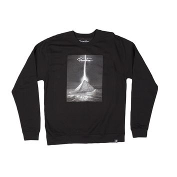 Primitive Apparel PYRAMID CREWNECK-BLACK Mens Apparel Outerwear at Primitive Store