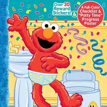 sesame street potty training ultimate sticker book Case of 48