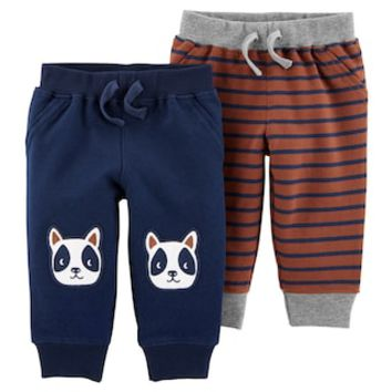 Baby Boy Carter's French Terry Pants Set | null