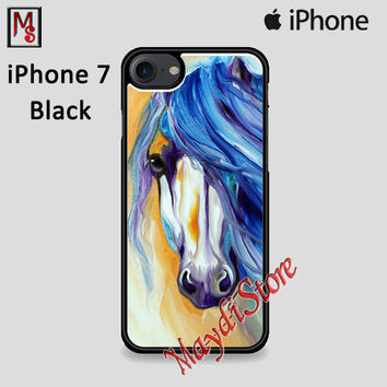 Watercolor Horse Starlight Mane For Iphone 7 Case