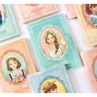Wanna This Girls sensibility petit undated diary scheduler ver.4