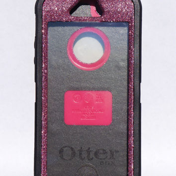 OtterBox Defender Series Case iPhone 5 Glitter Cute Sparkly Bling Defender Series Custom Case Black / Purple
