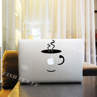 Coffee Decal Macbook Air Sticker Macbook Air Decal Macbook Pro Decal 43713