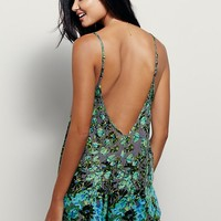 Free People FP One Water Color Sabine Romper