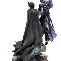 Batman: Arkham Origins UK Exclusive Collector's Edition Statue ONLY of Batman choking The Joker [No Game]