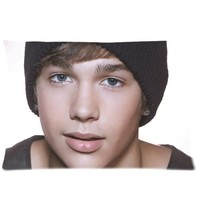 Custom Austin Mahone Pillowcase Standard Size 20x30 Cotton Pillow Case P1558