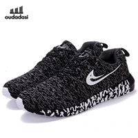 OUDADASI Men Women Running Shoes Flynit Men & Women Sneakers Super Light Sports Shoes Breathable Footwear Jogging Walking Shoes