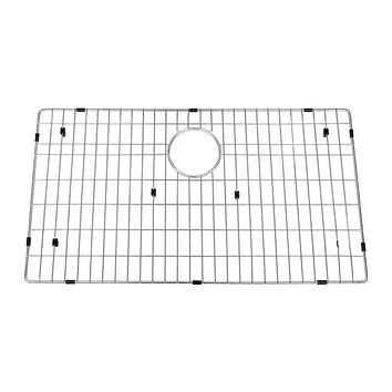 DAX-GRID-SQ3321 / DAX GRID FOR KITCHEN SINK, STAINLESS STEEL BODY, CHROME FINISH, COMPATIBLE WITH DAX-SQ-3321, 30 X 16 INCHES