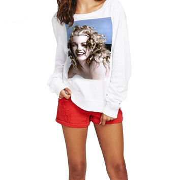 Marilyn Monroe Radio Days Beach Jumper