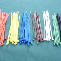 Cable Ties - 3.6mm x 140mm Multi Pack - 7 colours to choose from - Pack of 100 | eBay