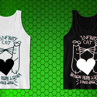 Infinity Cat for tank top mens and tank top girls