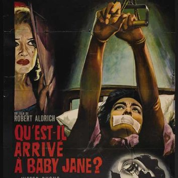Whatever Happened to Baby Jane? (French) 27x40 Movie Poster (1962)