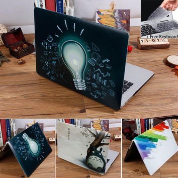 NEW Beautiful Printing Picture Case For MacBook Air 11 A1465/ air 13 inch A1466 pro 13.3 15 A1278 retina 13 A1502 laptop Case