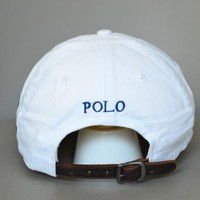 Polo Casual Outdoor Golf Sports Classic Baseball Ball Cap Hat White New Tag