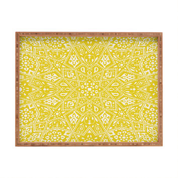 Aimee St Hill Amirah Yellow Rectangular Tray