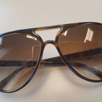 Ray Ban Sunglasses CATS 5000 Classic Tortoise Frames Light Brown Gradient Lenses