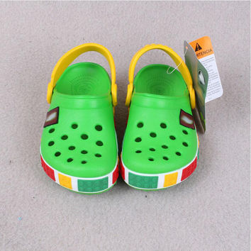 2016 Summer style Brand Toddler colorful children's sandals boys girls shoes beach slippers child shoes casual sandals sandal