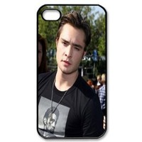 CTSLR Movie & Teleplay Series Protective Hard Case Cover for iPhone 4 & 4S - 1 Pack - Gossip Girl - Chuck