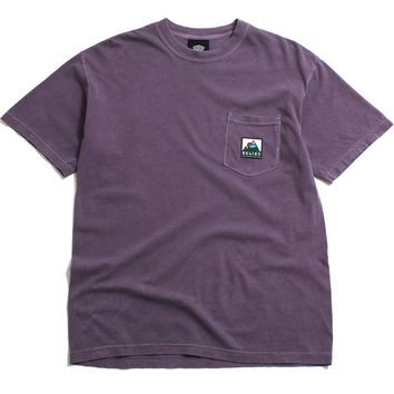 Elements Pocket T-Shirt Wine