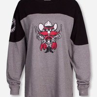 "Pressbox Texas Tech ""Cannon"" Grey and Black Sweeper"
