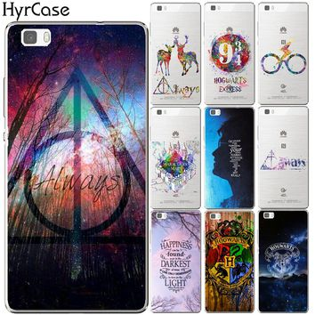 Harry Potter Deer Soft TPU Silicon Case Cover For Huawei P8 P9 P10 P20 Lite Plus Mate 10 Pro Y5 Y6 II Y3 Y7 2017 Honor 9 6X 7X