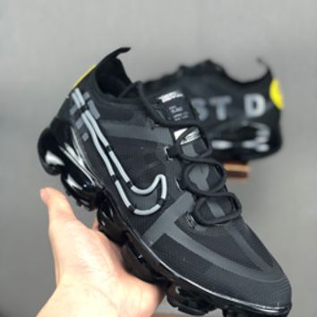 HCXX 19July 654 CACTUS PLANT FLEA MARKET X NIKE AIR VAPORMAX 2019 CD7001 Fashion Breathable Running Shoes black