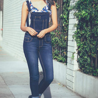 Command Ankle Skinny Overalls