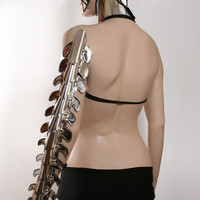futuristic spine bones armor spartan shoulder armour custom made for men or women