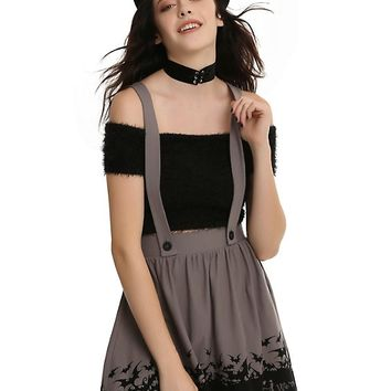 The Nightmare Before Christmas Simply Meant To Be Suspender Skirt