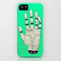 THE HAND OF DESTINY / LA MANO DEL DESTINO iPhone & iPod Case by MRCLV