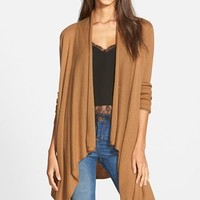 Women's Leith Waterfall Open Front Cardigan ,