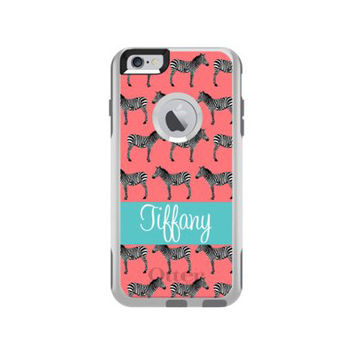 Monogrammed Otterbox Commuter iPhone 6/6s Plus Cases