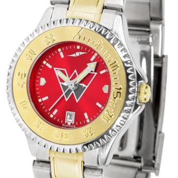 Western State Colorado University Mountaineers Competitor Ladies Two-Tone AnoChrome Watch