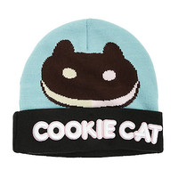 Steven Universe Cookie Cat Intarsia Knit Beanie