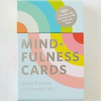 Mindfulness Card Deck | Urban Outfitters