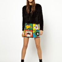Lazy Oaf X Looney Tunes Looney Gang Skirt