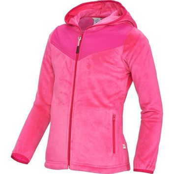 Magellan Outdoors™ Girls' Hooded Pieced Fleece Jacket