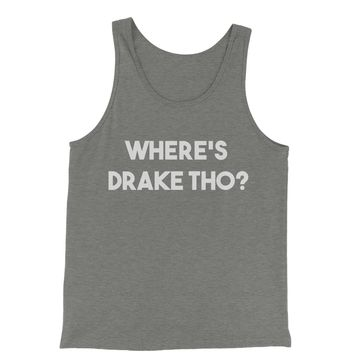 Where's Drake Tho?  Jersey Tank Top for Men