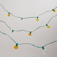Mimosa-Colored 10 Bulb String Lights - World Market