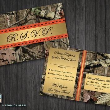 best camo invitations products on wanelo, Wedding invitations