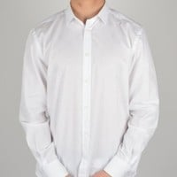 Versace Collection Mudusa Long Sleeve Shirt V300013 - White