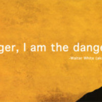 Breaking Bad I Am the Danger Television Poster