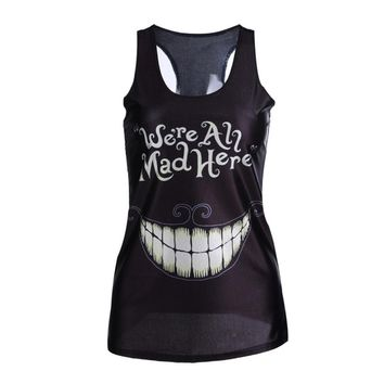 Multi-Color Gothic Punk Clubwear T-Shirt